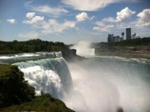 Foto de las cataratas del Niagara, Nueva York.