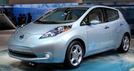 El Nissan Leaf
