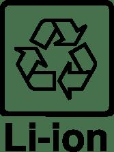 el reciclaje de baterías de iones de litio