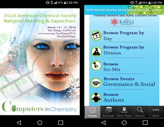la aplicación móvil de la ACS de 2016