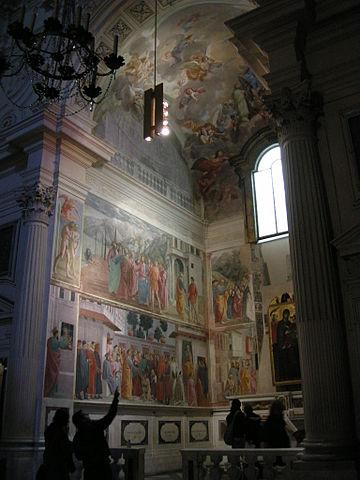 Pinturas en la Capilla Brancacci