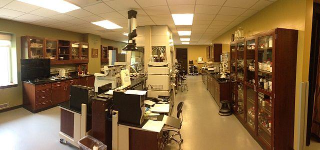 El laboratorio de ciencias de la conservación en el Museo de Arte de Indianápolis